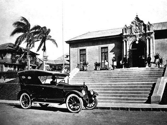 Resultado de imagen para fotos antiguas de la Casa amarilla costa rica