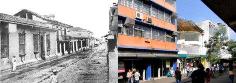 Calle 2 o Calle del Congreso, 1871 Ayer y hoy