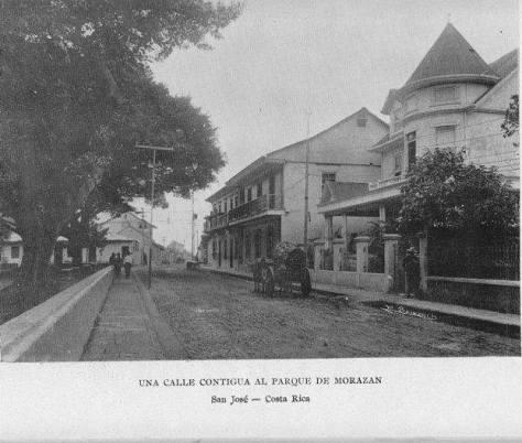 Costado N Parque Morazán 1913 C.R. y sus raices facebook