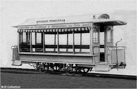 El tranvía número 2, que se muestra a continuación, era un modelo cerrado especial diseñado para uso personal del presidente costarricense Bernardo Soto Alfaro.