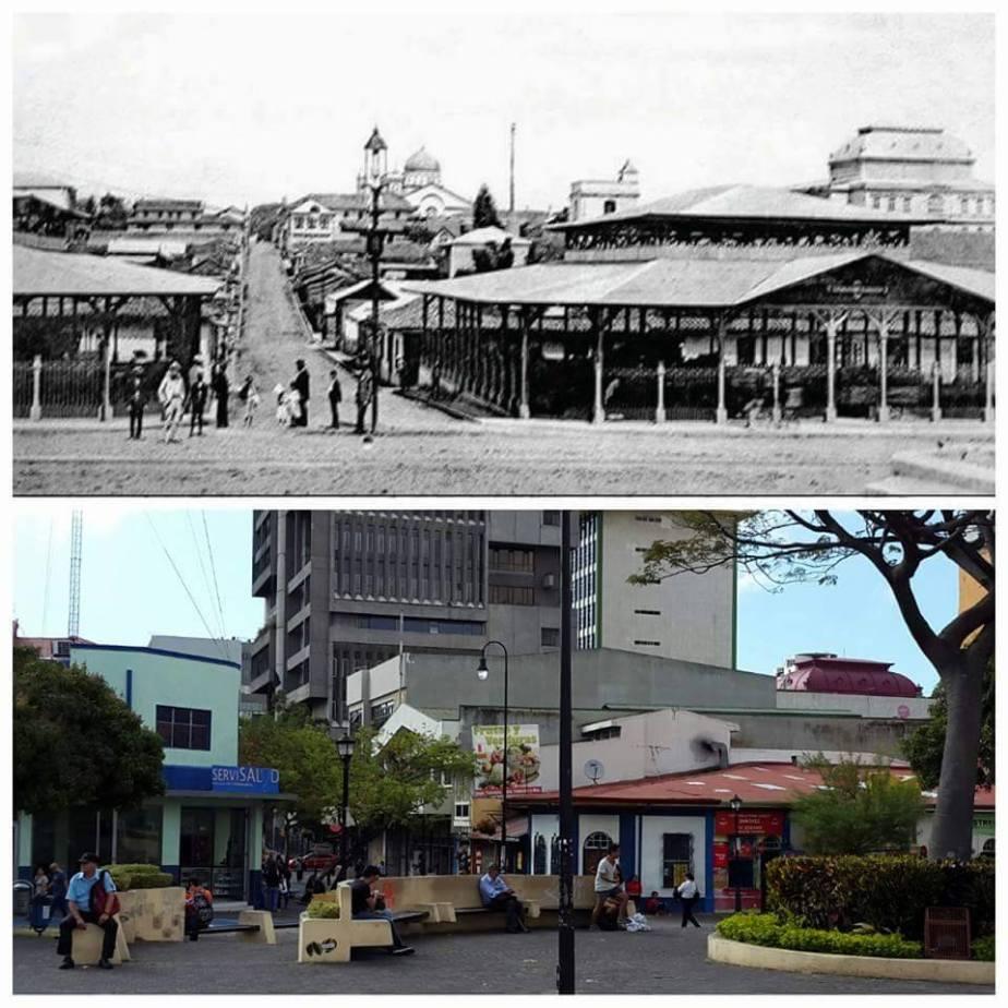 Iglesia La Soledad 1906 y 2016