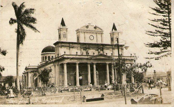 La Catedral Metropolitana, San José, 1850. | Mi Costa Rica de Antaño