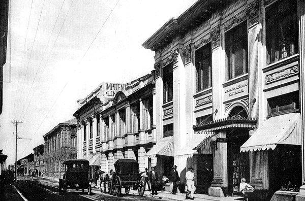 librería lehmann fachada