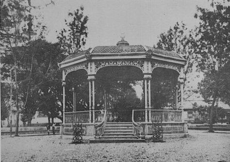 Parque Morazán, 1914