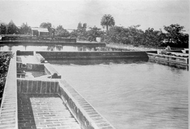 Antiguos Tanques de Agua (La primera cañería de agua), San José, 1851-1900.  | Mi Costa Rica de Antaño