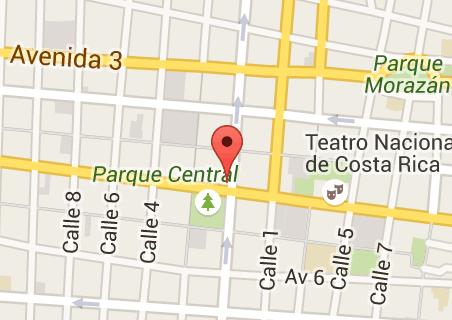 Teatro melico map