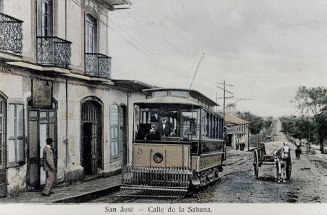 Tranvía en la Sabana