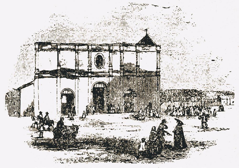Vieja Catedral, grabado