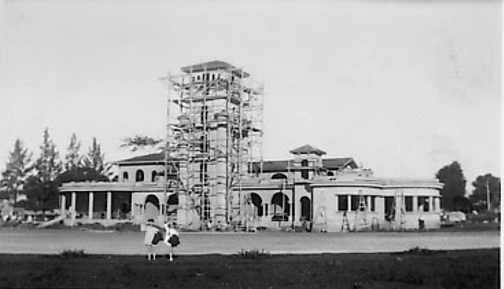 1939 construcción del aeropuerto sabana