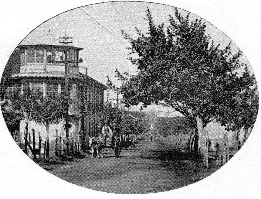 Avenida las Damas 1890, foto Fotos antiguas de C.R.