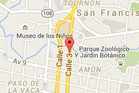Castillo del Moro map