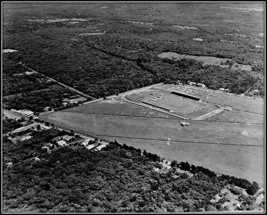 vista aerea de la sabana a mediados siglo xx