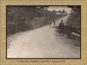 Calle entre Guadalupe y San Pedro