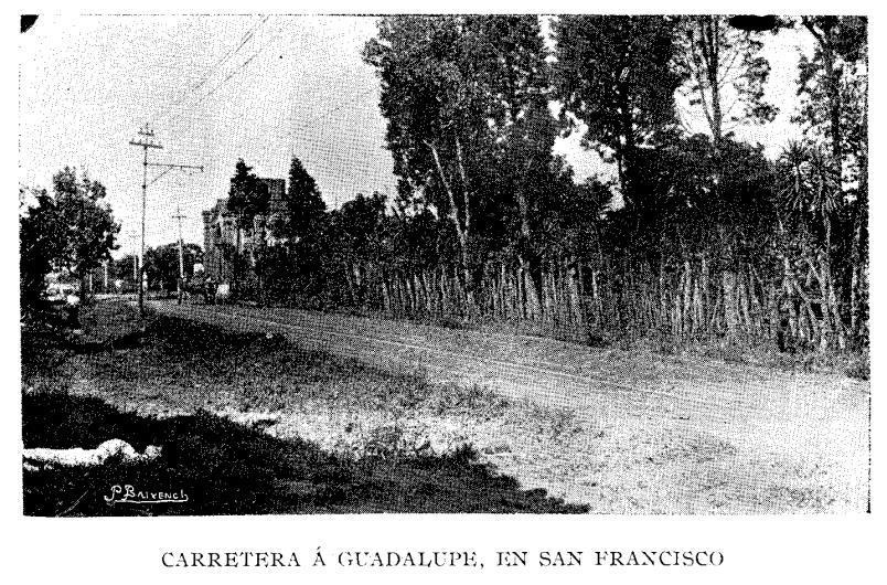 Carretera entre San Francisco y Guadalupe