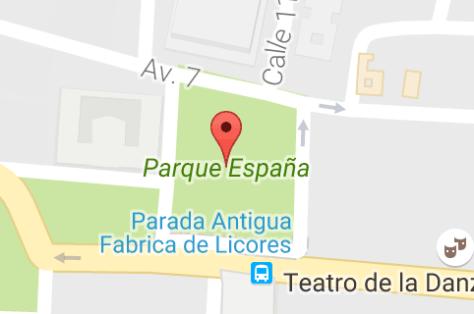 Parque España Mapa