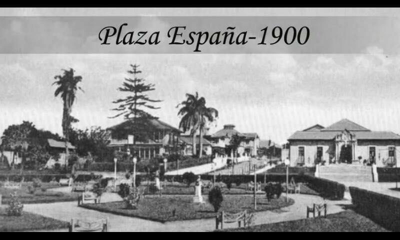 Plaza España 1900