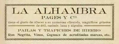 Anuncio La Alhambra