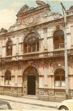 BibliotecaNal fachada y entrada principal. sinabi