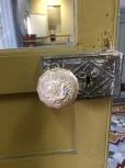 Cerradura de puerta antigua