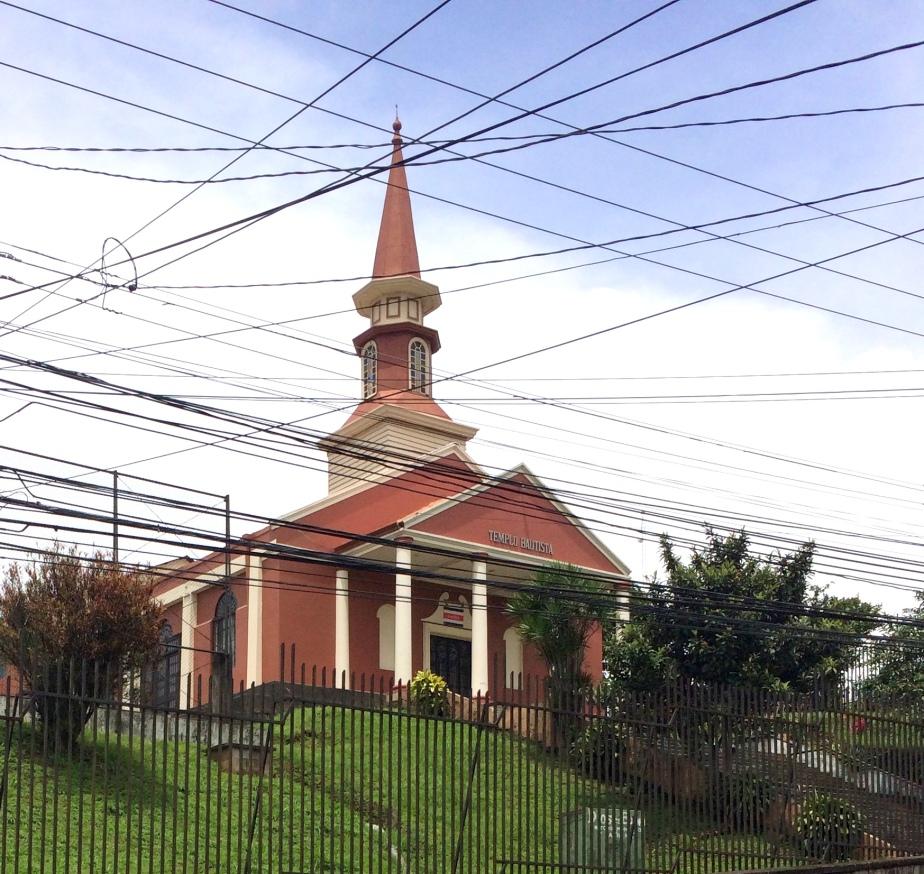 Templo Bautista, Tibás