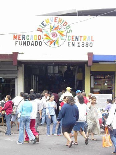 Mercado Central foto Wikipiedia