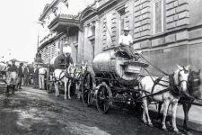 Carruaje de bomberos, Costado Sur Teatro Nacional