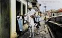 Coleccion de fotos antiguas de Alvaro y Carlos Castro Harrigan para un suplemento de la Nacion sobre San Jose. Fotos tomadas en la ULACIT. (03-10-2013). Fotografia Marcela Bertozzi