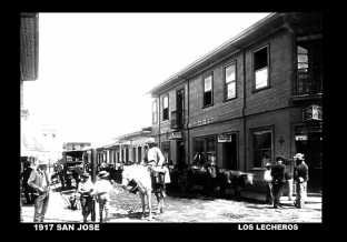 Lecheros, 1917