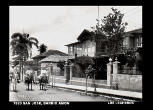 Lecheros Barrio Amón, 1920