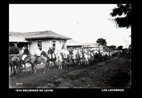 Recibidor de leche, 1916