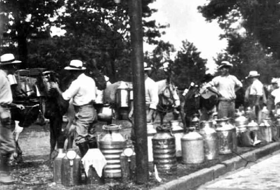 Lecheros, 1918