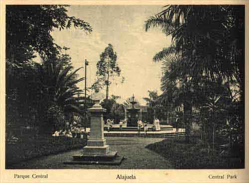 Parque Central de alajuela