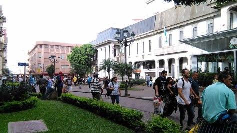 Plaza Juan Rafael Mora, foto de Alejandro A. Taborda