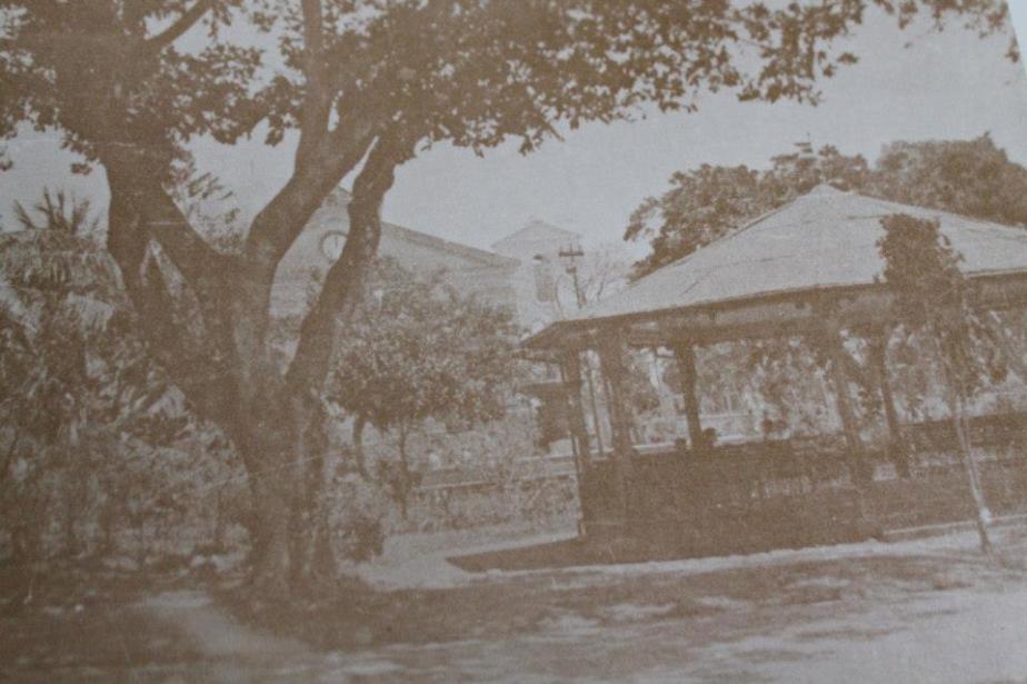 Primer quiosco parque alajuela