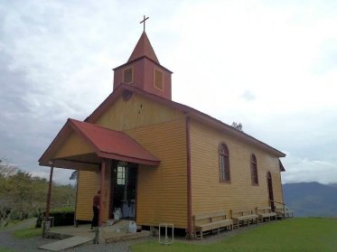 Iglesia Hacienda Sitio de Mata, Pavones, Turrialba, Cartago