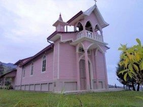 Iglesia La Pastora, Santa Cruz, Turrialba, Cartago