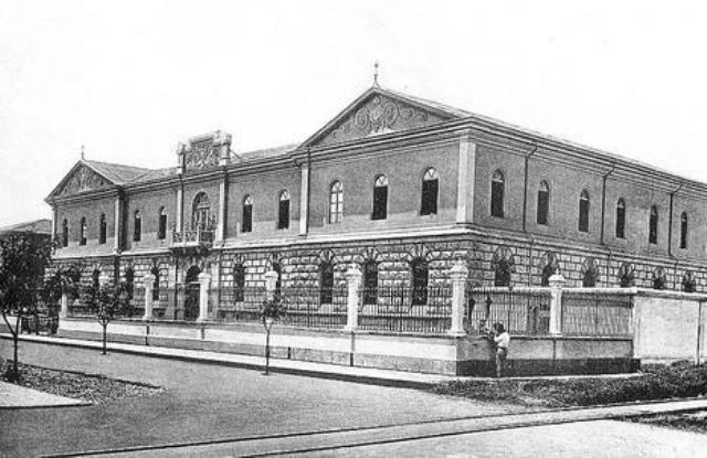 Antigua Casa de Correccion, hoy LiceodeCR, sinabi
