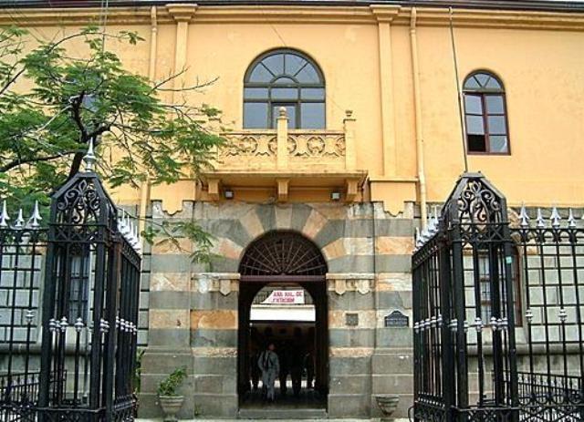 Liceo de CR, portall principal, sinabi
