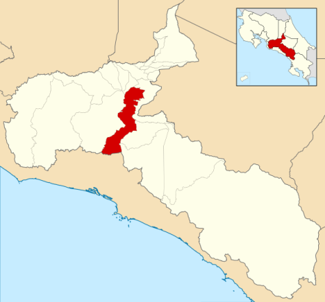mapa de Aserrí