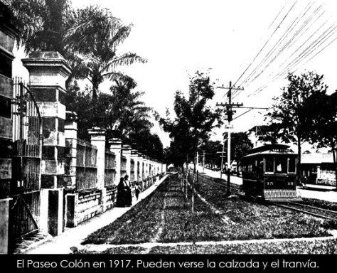 Paseo Colón 1917