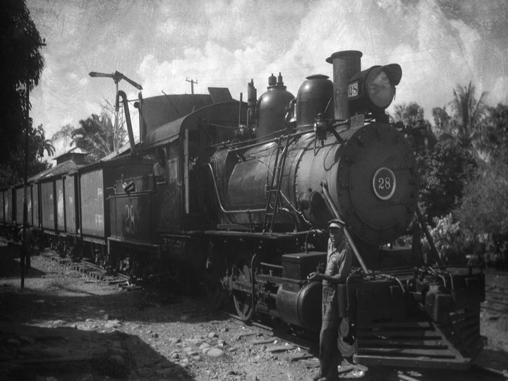 Resultado de imagen para antiguos trenes del atlantico, costa rica