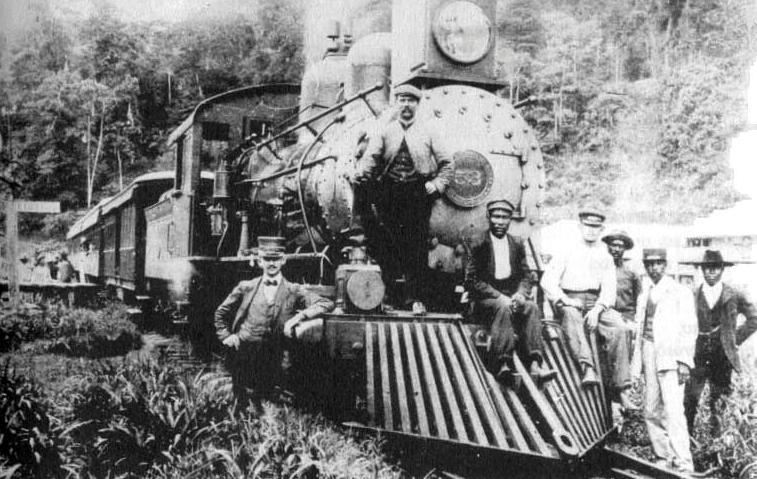 Resultado de imagen para Estaciones antiguas del ferrocarril al Atlántico, costa rica