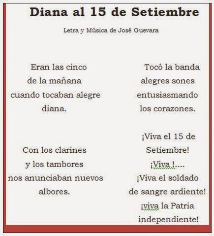 Image result for himno de la diana 15 setiembre