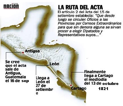 Image result for acta de la independencia de costa rica