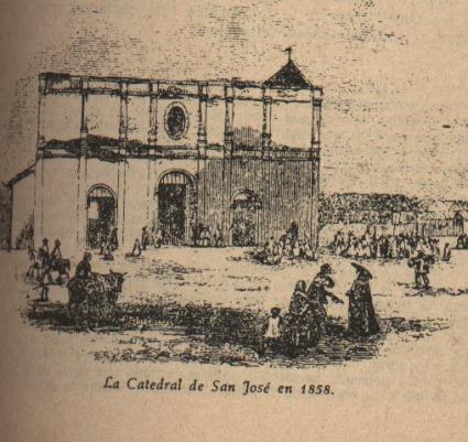 Resultado de imagen para catedral de san jose, 1858