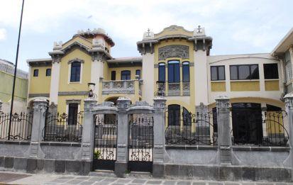 Casa Jiménez de la Guardia, construida en 1905