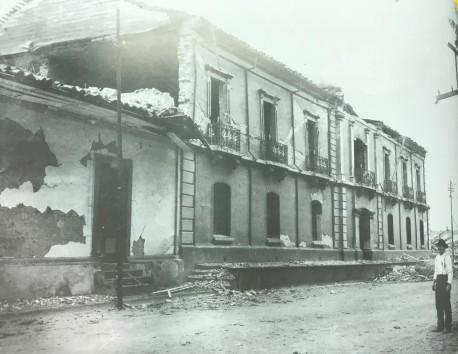 Edificio de la Gobernación de Cartago. H.N. Rudd, 1910