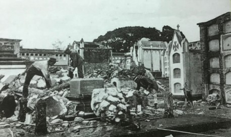 Restos del Cementerio Gl. de Cartago. H.N. Rudd, 1910