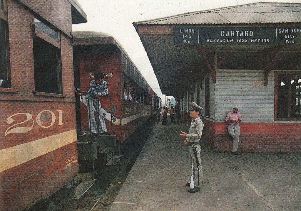 Resultado de imagen para Estación del ferrocarril al Atlántico, Cartago