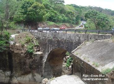 Resultado de imagen para historia del puente río jesus maría, costa rica